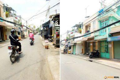 Mặt bằng đường Nguyễn Thần Hiến quận 4 3x16m