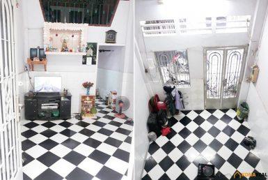 Nhà đường Bến Vân Đồn quận 4 2.9x10.85m