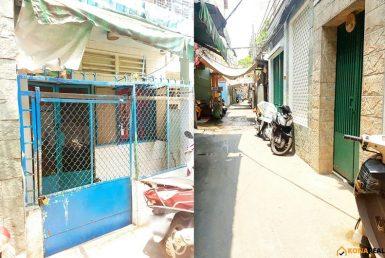 Nhà đường Đoàn Văn Bơ quận 4 3.35x8m