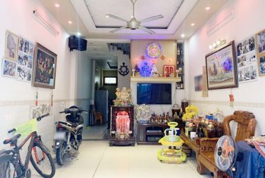 Nhà đường Đoàn Văn Bơ quận 4 4x14m