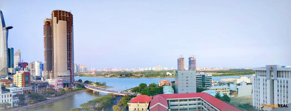 View chung cư Saigon Royal quận 4
