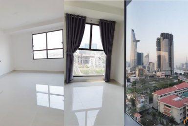 Căn hộ officetel Sài Gòn Royal quận 4 57m2