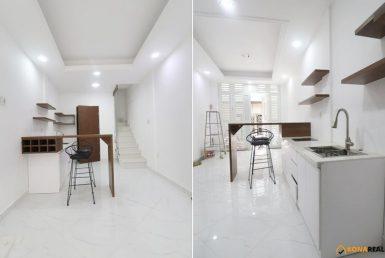Nhà đường Đoàn Văn Bơ phố ẩm thực Vĩnh Khánh quận 4 3x7m