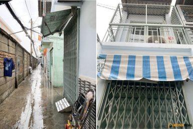 Nhà đường Đoàn Văn Bơ quận 4 2x7m
