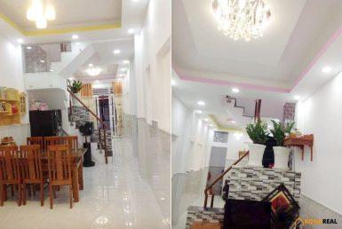 Nhà đường Đoàn Văn Bơ quận 4 3x19.8m2