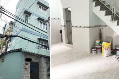 Nhà hẻm đường Tôn Đản quận 4 4.03x6m