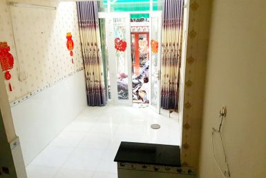 Nhà khu phố ẩm thực Vĩnh Khánh quận 4 3x7m