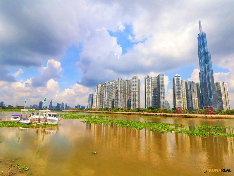 View sông Sài Gòn Landmark 81