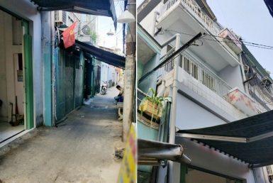 Nhà đường Nguyễn Tất Thành quận 4 3.19x15m