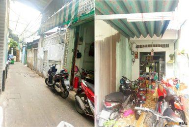 Nhà đường Tôn Đản quận 4 48.1m2