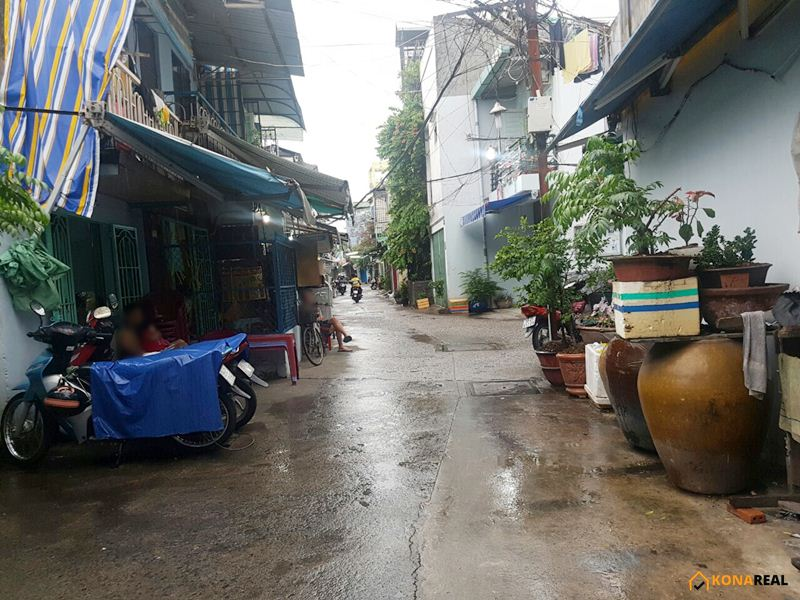Nhà đường Tôn Thất Thuyết quận 4 3.5x10m