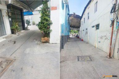 Nhà đường Bến Vân Đồn quận 4 6.2x12.2m