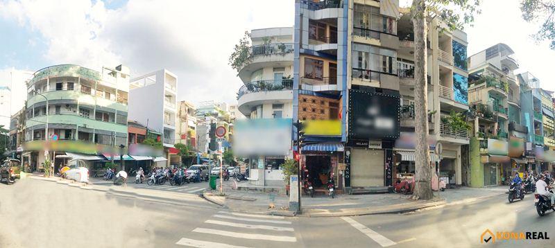 Mặt bằng đường Nguyễn Huy Tự quận 1 3.75x18m