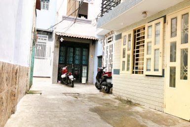 Nhà đường Đoàn Văn Bơ quận 4 41.9m2