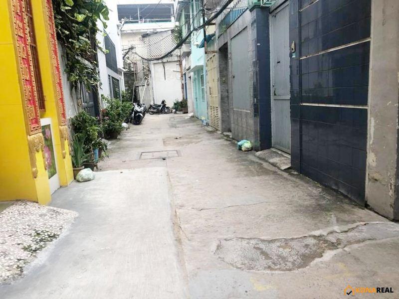 Nhà đường Huỳnh Tịnh Của quận 3 42.8m2