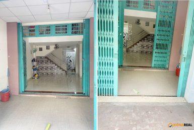 Nhà đường Tôn Thất Thuyết quận 4 4x16.5m