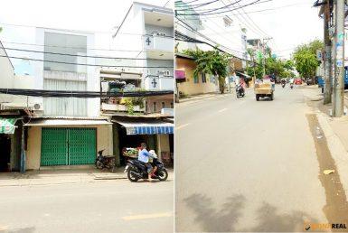 Nhà đường Tôn Thất Thuyết quận 4 64.9m2