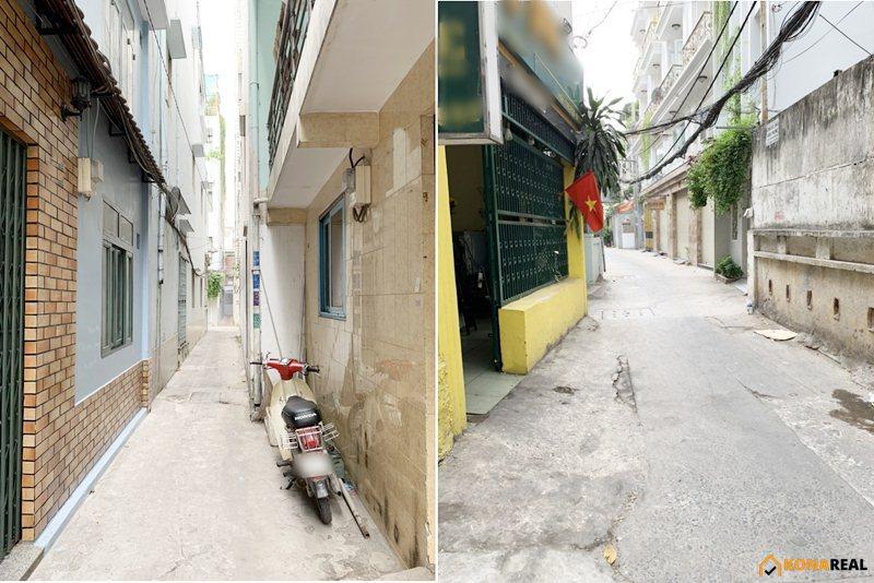 Nhà đường 3 Tháng 2 quận 10 35m2