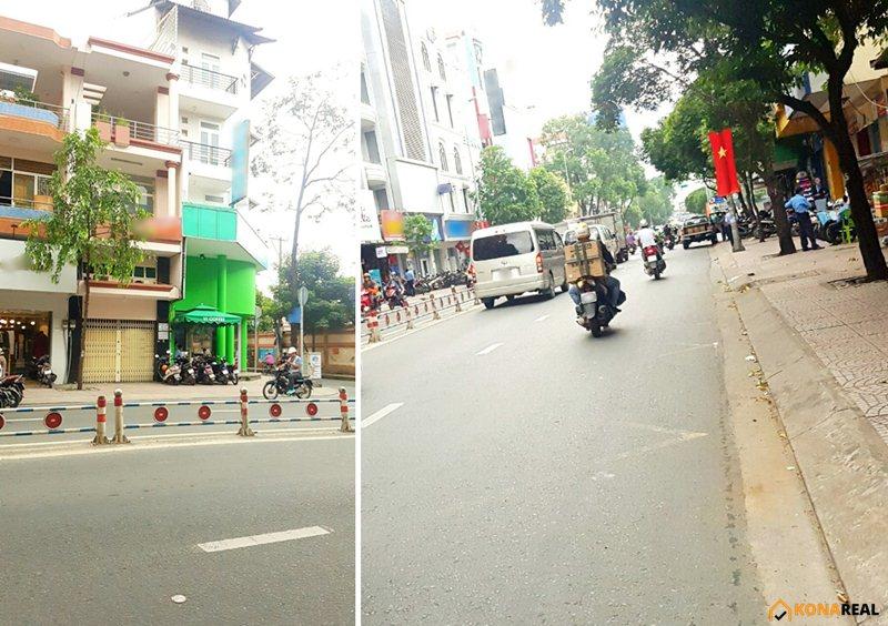 Nhà đường Khánh Hội quận 4 4x18m
