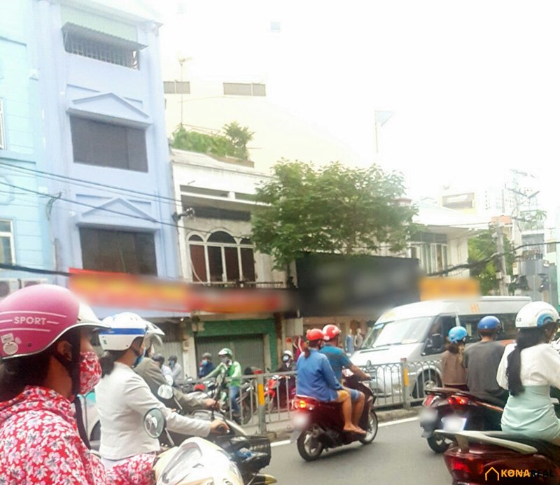 Nhà đường Nguyễn Tất Thành quận 4 4x18m