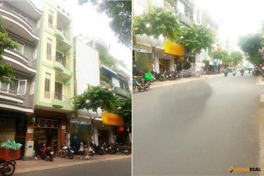 Nhà đường Tân Vĩnh quận 4 4x15m