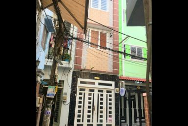 Nhà đường Tôn Đản quận 4 3x10m