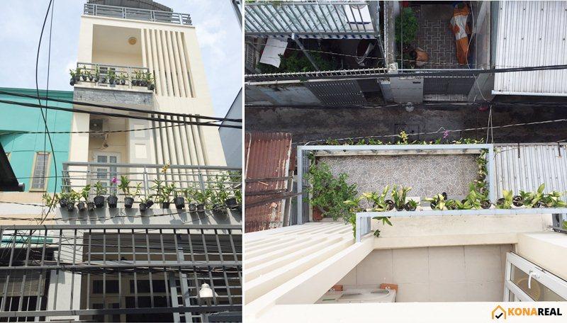 Nhà đường Tôn Thất Thuyết quận 4 33.3m2