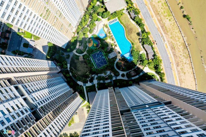 View chung cư Palm City