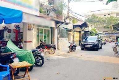 Mặt bằng cư xá Vĩnh Hội quận 4 4x10m