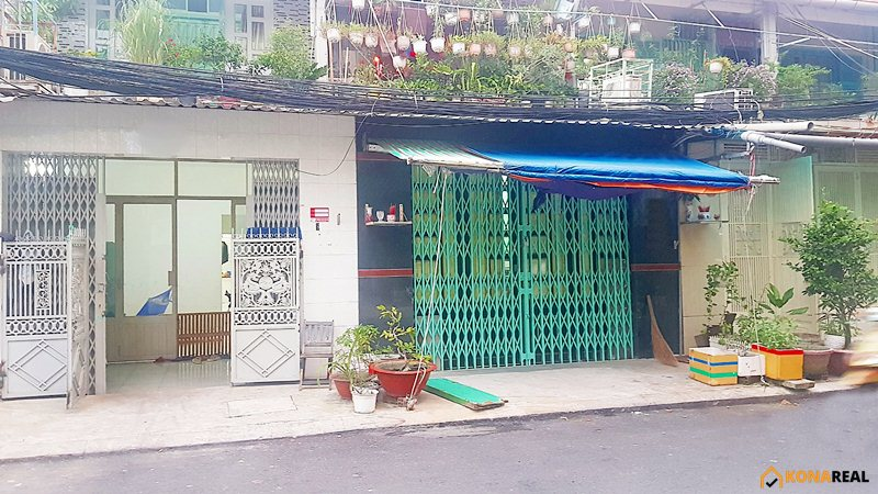 Nhà cư xá Vĩnh Hội đường số 46 quận 4 4x14m