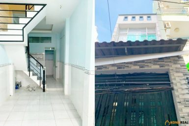 Nhà đường Bến Vân Đồn quận 4 29.8m2