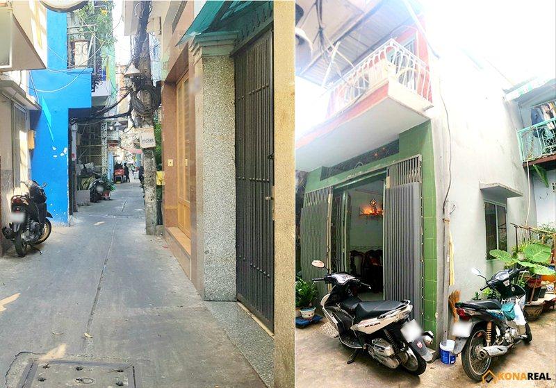 Nhà đường Đoàn Văn Bơ quận 4 26.4m2