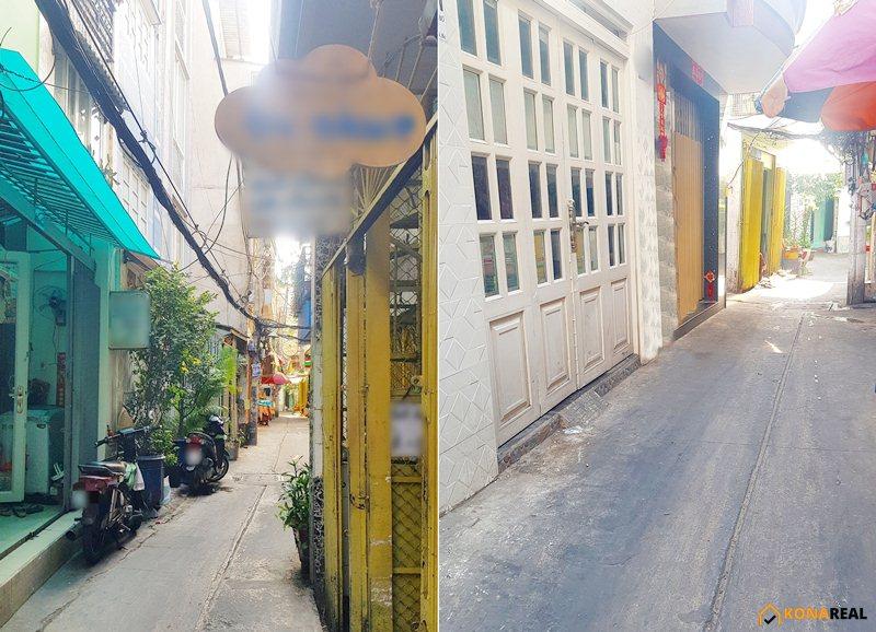 Nhà đường Đoàn Văn Bơ quận 4 38.9m2