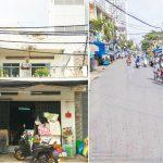 Nhà đường Nguyễn Khoái quận 4 74.9m2