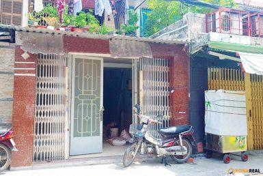 Nhà đường số 41 cư xá Vĩnh Hội quận 4 4x16m