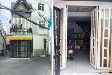 Nhà đường Tôn Đản quận 4 24.4m2