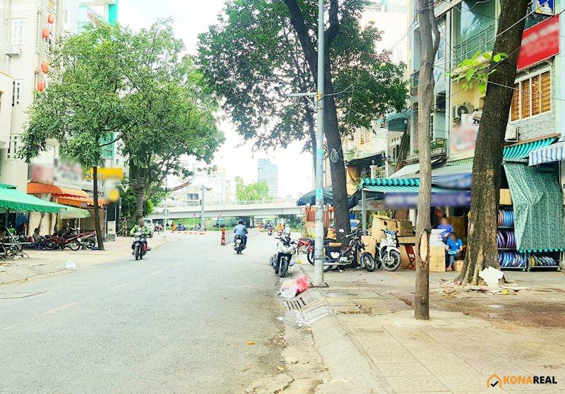 Nhà đường Vĩnh Khánh quận 4 23.9m2