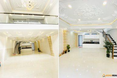 Nhà khu tái thiết Hoàng Diệu quận 4 66m2