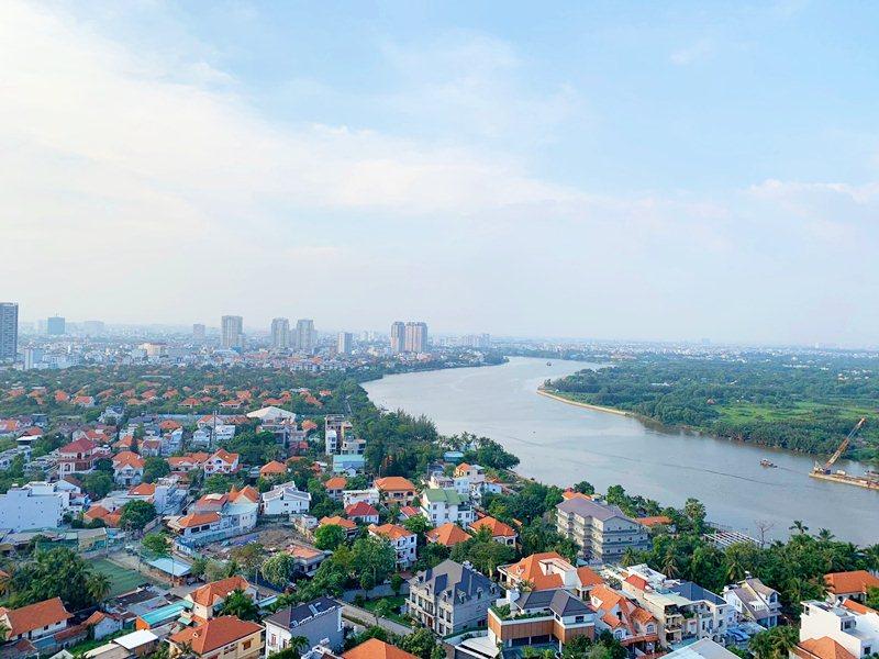 View chung cư The Nassim Thảo Điền quận 2