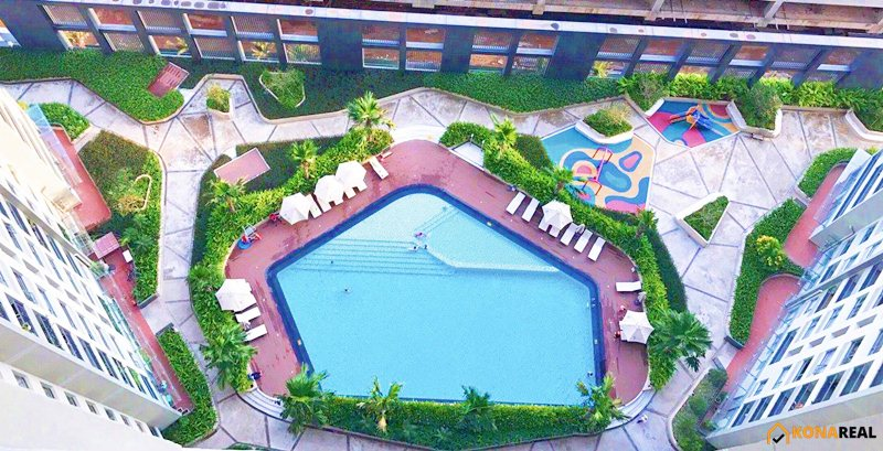 View hồ bơi chung cư Masteri Thảo Điền quận 2