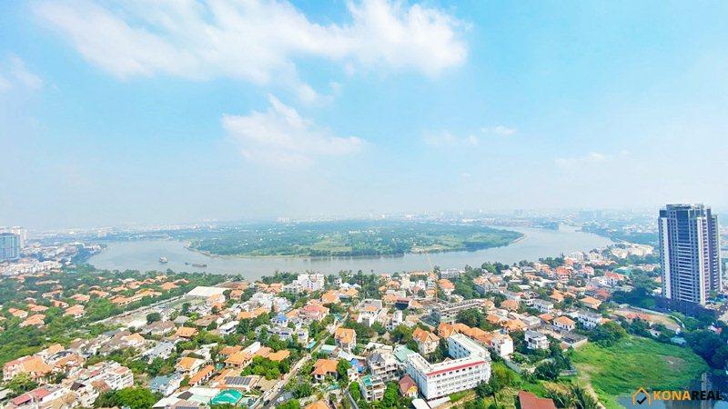 View sông Sài Gòn chung cư Masteri Thảo Điền quận 2